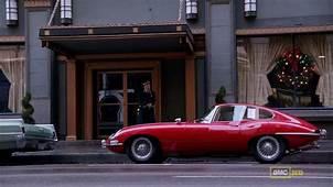 Don Draper Drunk Drives An XKE The Jaguars Of Mad Men