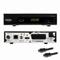 g hd kabel receiver xoro digital hrk 7660 dvb c usb tv