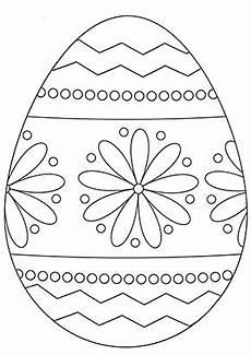 Ausmalbilder Blumenmuster Ausmalbilder Osterei Osterei Mit Blumenmuster Zum Ausdrucken