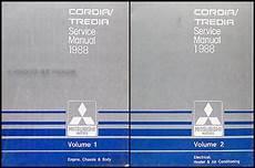 free online auto service manuals 1988 mitsubishi cordia electronic toll collection 1988 mitsubishi cordia tredia repair shop manual set original