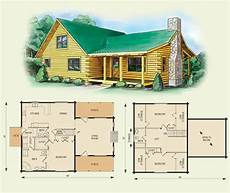 carolina log home and log cabin floor plan 3 bed room
