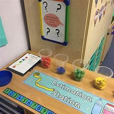 estimation worksheets early years 8192 interactive maths display estimation station hs parent activity maths eyfs maths display