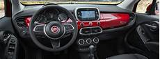 fiat 500x interieur 2019 fiat 500x interior of front seating dashboard