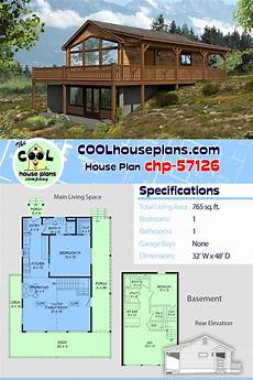 sloping lot house plans hillside house plan chp 57126 sloping lot house plan cheap