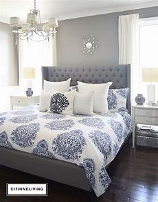 Bedroom Ideas In Blue And Grey by 72 Blue And Gray Bedroom Ideas Pictures Remodel And