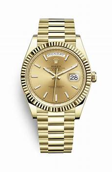 day date uhr rolex day date 40 18 ct yellow gold m228238 0003