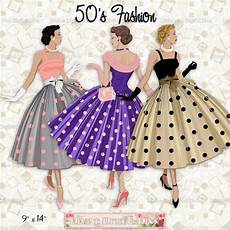 40er jahre mode 12 fashion 50s polka dot dress light skin tone