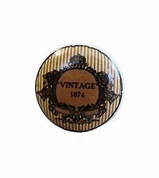 Bouton De Meuble Vintage 1874 Boutons Mandarine