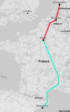 distance barcelone
