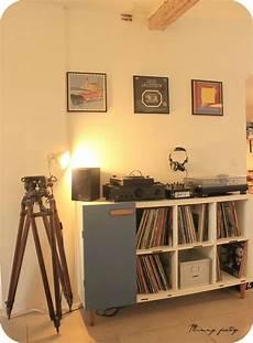 1 Ikea Hacking Console Pour Sa Platine Vinyle Vinyl