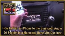 how to pair an iphone to the bluetooth audio 20 system in