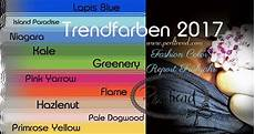 Farbtrends 2017 Mode - mode trendfarben 2017 www perltrend fr 252 hling 2017