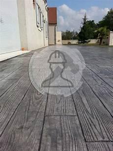 Terrasse Beton Imitation Bois Portefeuille B 233 Ton Imprim 233 B 233 Ton Este Beton Empreinte