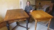 alte möbel restaurieren schellack alten ausziehtisch restaurieren der gr 252 nderzeit des
