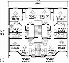 multiplex house plans multiplex plan chp 37404 house plans floor plans how