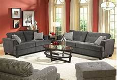 living room wall paint and grey sofas color