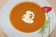 Kürbis Möhren Suppe - k 252 rbis m 246 hren suppe mit chili und koriander frau antje