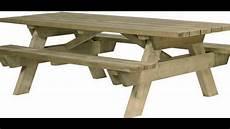tables pique nique picnic pic nic tables bancs