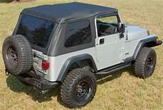 jeep wrangler tj bowless xhd soft top 1997 2006 xxx13750 xx series