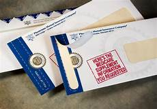 Zip Envelopes With Tear Away For Direct Mail
