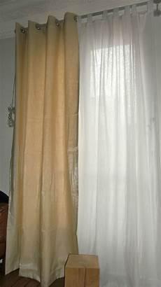 rideau et voilage sur même tringle rideau et voilage en blanche l a fait