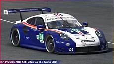 91 Porsche Retro 24h Le Mans 2018 By Sergio Hernando