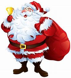 santa claus with bell and bag png clipart best web clipart