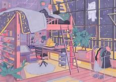 Aesthetic Anime Bedroom Ideas by Pin De Cocoharu En Anime Rooms En 2019 Anime Y