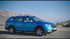 Dacia Logan Neu - 2017 new dacia logan mcv stepway exterior design in blue