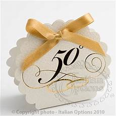 50th golden wedding anniversary favour box diy favour