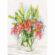 aquarell malvorlagen lilien aquarell malen nach zahlen schipper malvorlage