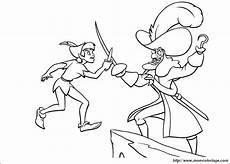 Captain Hook Malvorlagen Pdf Coloring Pan Page Captain Hook And Pan
