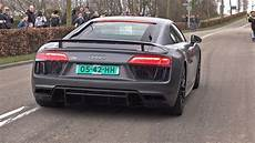 best of audi r8 v10 sound compilation