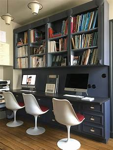 trendy home office furniture interior designer marianne evennou s paris office doubles