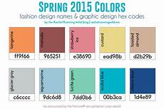 2015 Color Trends Running
