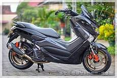 Modifikasi Nmax Jari Jari by Modifikasi Motor Modifikasi Nmax Hitam Gold
