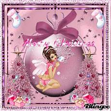 a little pink merry christmas picture 119182727 blingee com