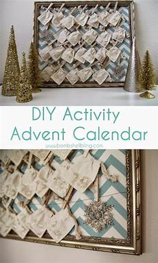 Diy Activity Advent Calendar
