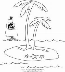 Malvorlagen Urlaub Island Insel 02 Gratis Malvorlage In Diverse Malvorlagen