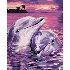 Vorlagen Ostereier Malvorlagen Romantik Delfine Malen Nach Zahlen Schipper 24 X 30 Cm Tiere