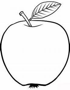 Sekumpulan 15 Gambar Buah Apel Untuk Diwarnai Anak Anak