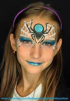 Schminken Spinne - spinne spider artist belinda wurmitzer