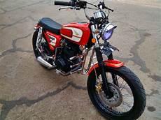 Jual Beli Motor Modifikasi by Honda Cb 100 Merah Modif Jual Motor Honda Cb Aceh