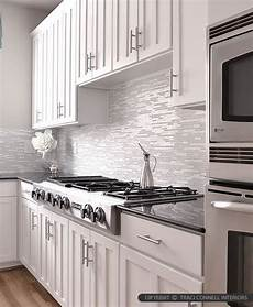 White Tile Backsplash Kitchen Modern White Marble Glass Kitchen Backsplash Tile