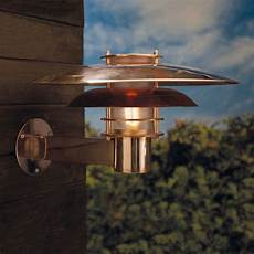 nordlux pheonix e27 outdoor wall light copper