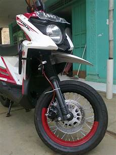 X Ride 125 Modif Supermoto by Modif X Ride Jadi Supermoto Viwimoto