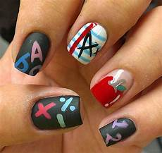 back to school nail art designs beauty tips hair care