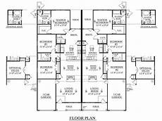 house plans for duplexes three bedroom southern heritage home designs duplex plan 1392 a