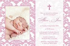 thank you card bautism template word baptism invitations wording baptism invitation wording