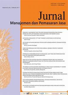 jurnal manajemen dan pemasaran jasa fpjm